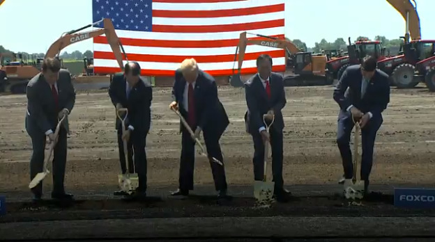 美媒:富士康美国新工厂开建9个月 但建设几乎无进展