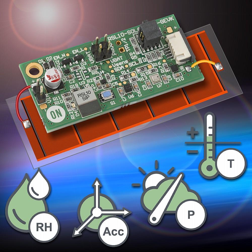 安森美半导体推出蓝牙低功耗多传感器平台 继续使免电池IoT成为现实