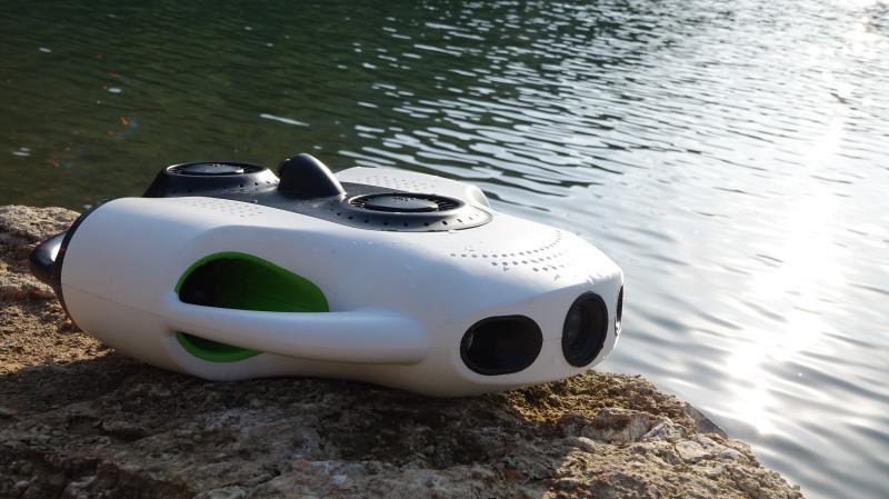 约肯机器人推出BW Space Pro 为全球首款具有变焦拍摄功能的水下无人机