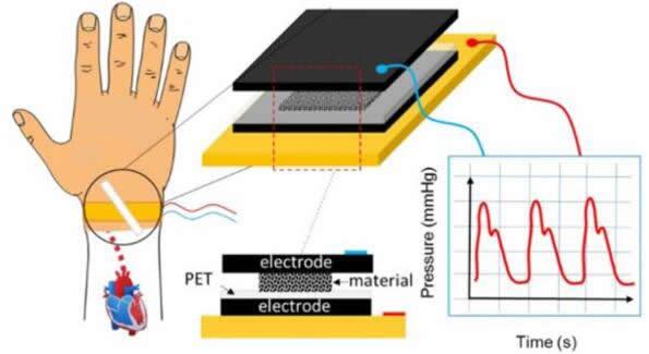 含碳泡沫材料塑造超灵敏压力传感器 助力医疗可穿戴设备
