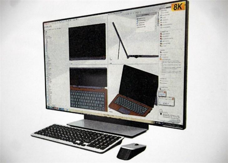 夏普新款显示器参数炸裂:31.5英寸8K@120Hz,需四路DP线