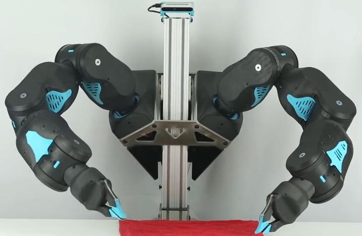 精细手工活这个机器人也会干