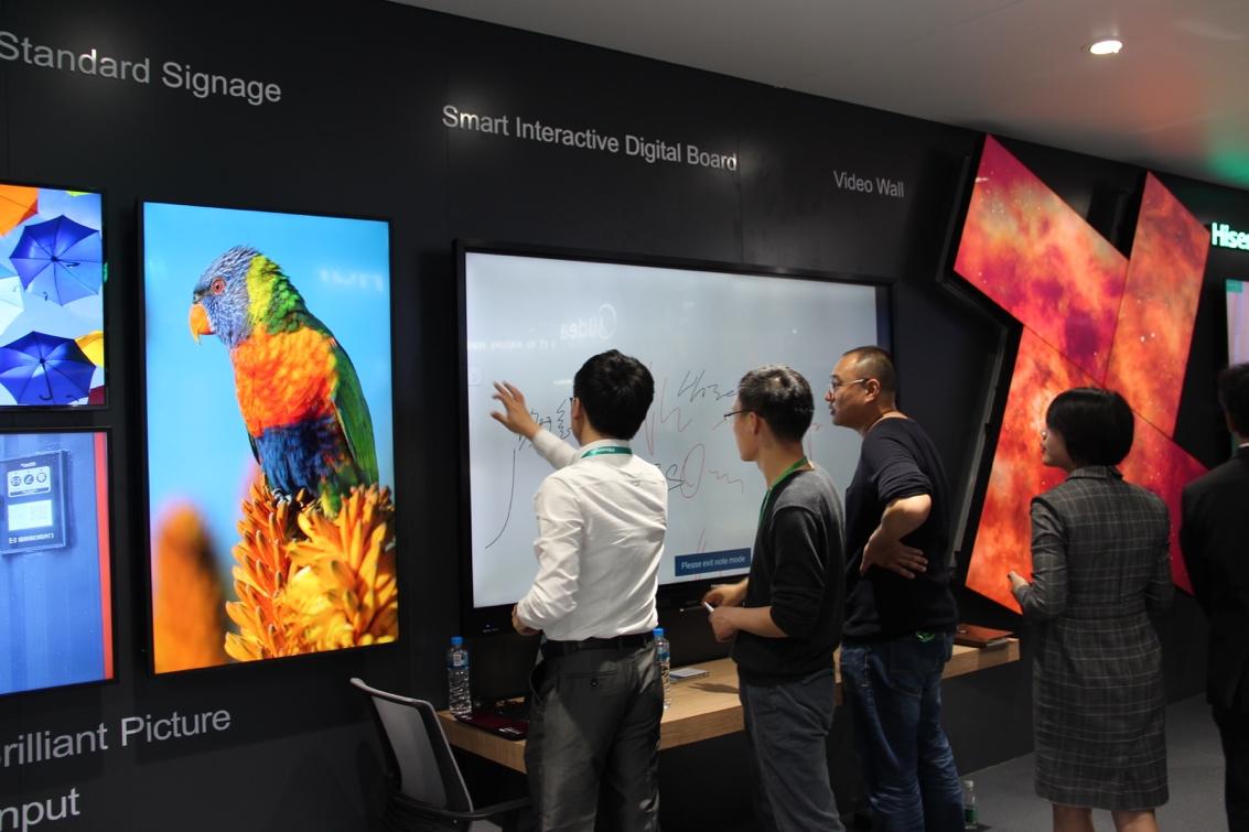 海信广交会首展100吋三色激光电视,欧美市场一季度销量大涨