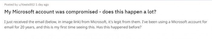 黑客能通过微软支持门户网站读取非公司帐户的电子邮件