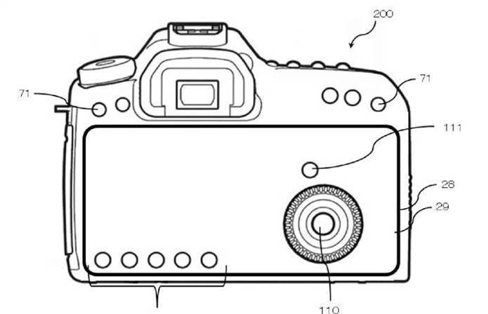 """罕见!相机也要全面屏 佳能相机触控""""全面屏""""专利曝光"""