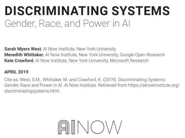 """AI的多元化危机:研究报告吐槽人工智能领域过于""""白人直男癌"""""""