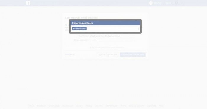 Facebook再爆用户不知情下收集了150万电子邮件联系人