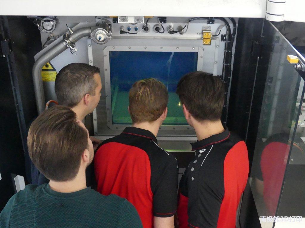 秒杀机加工 荷兰公司用金属3D打印制造超级摩托车电机冷却外壳