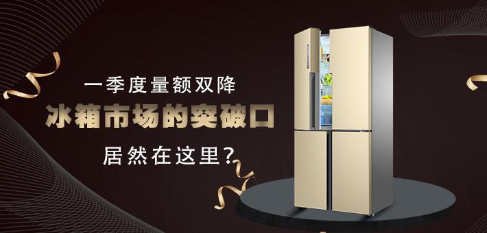 一季度量额双降 冰箱市场的突破口居然在这里?