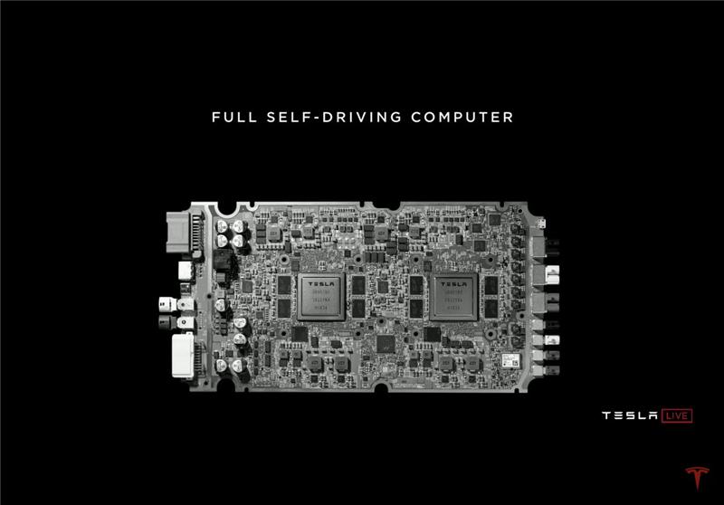 """马斯克""""够狂""""!发布""""全世界最好的芯片""""、推出自动驾驶Taxi,特斯拉鸣锣新战场"""