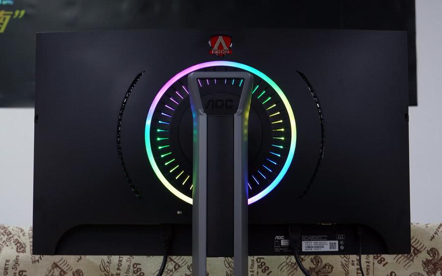 100%sRGB 爱攻AG273QCX曲面电竞显示器评测