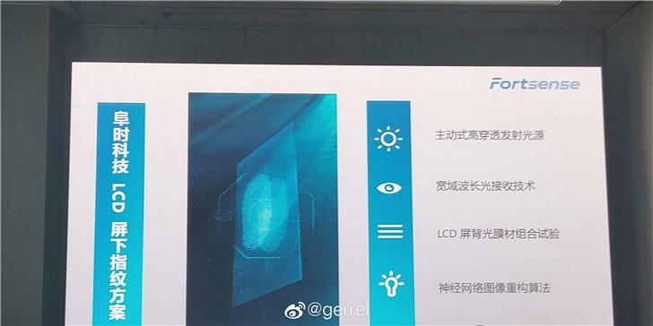 小米王腾:LCD屏下指纹技术上可行,但今年旗舰都是OLED屏