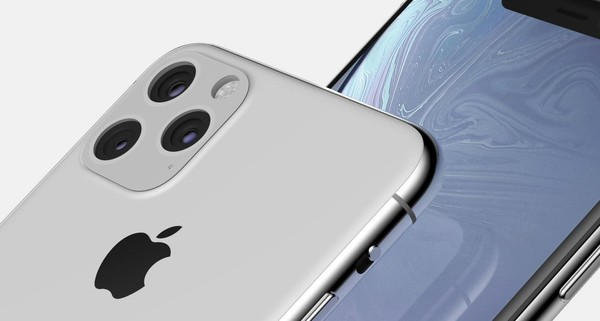 iPhone XI渲染图首次曝光 搭载A13仿生芯片及后置三摄