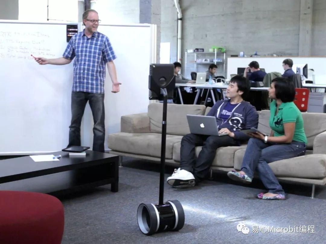 机器人课程系列:远距临场机器人 解决分身乏术的困境