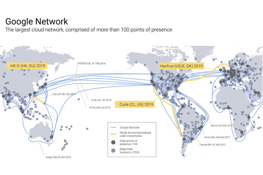 美国-智利海底光缆系统Curie成功登陆智利