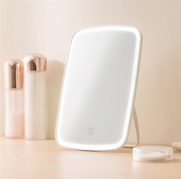 小米有品开卖台式LED化妆镜:点触式调控/超长续航