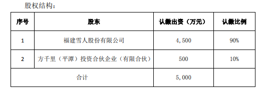 雪人股份4500万组建重庆氢能合资公司