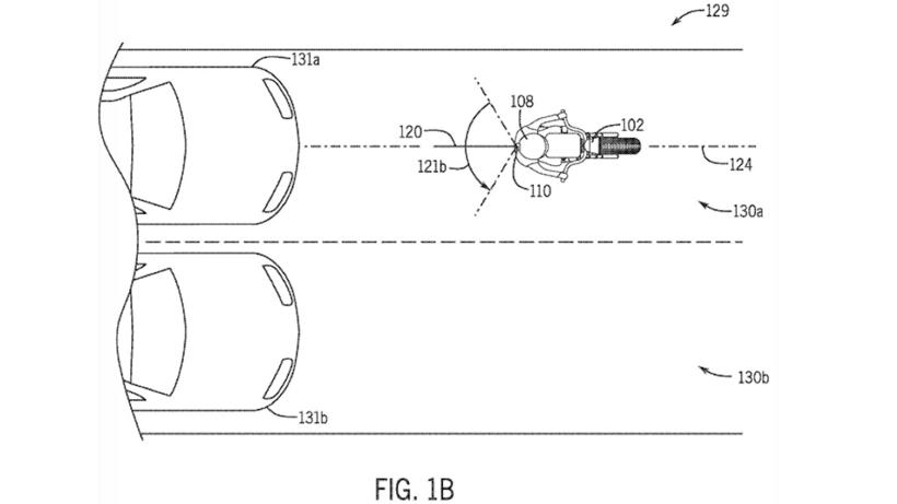 本田申请将雷达安装在头盔后部专利 防止摩托车与汽车发生追尾
