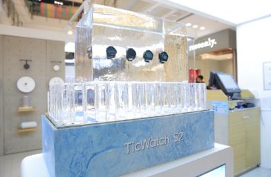 莫沃依军用标准运动智能手表TicWatch S2和E2破冰船