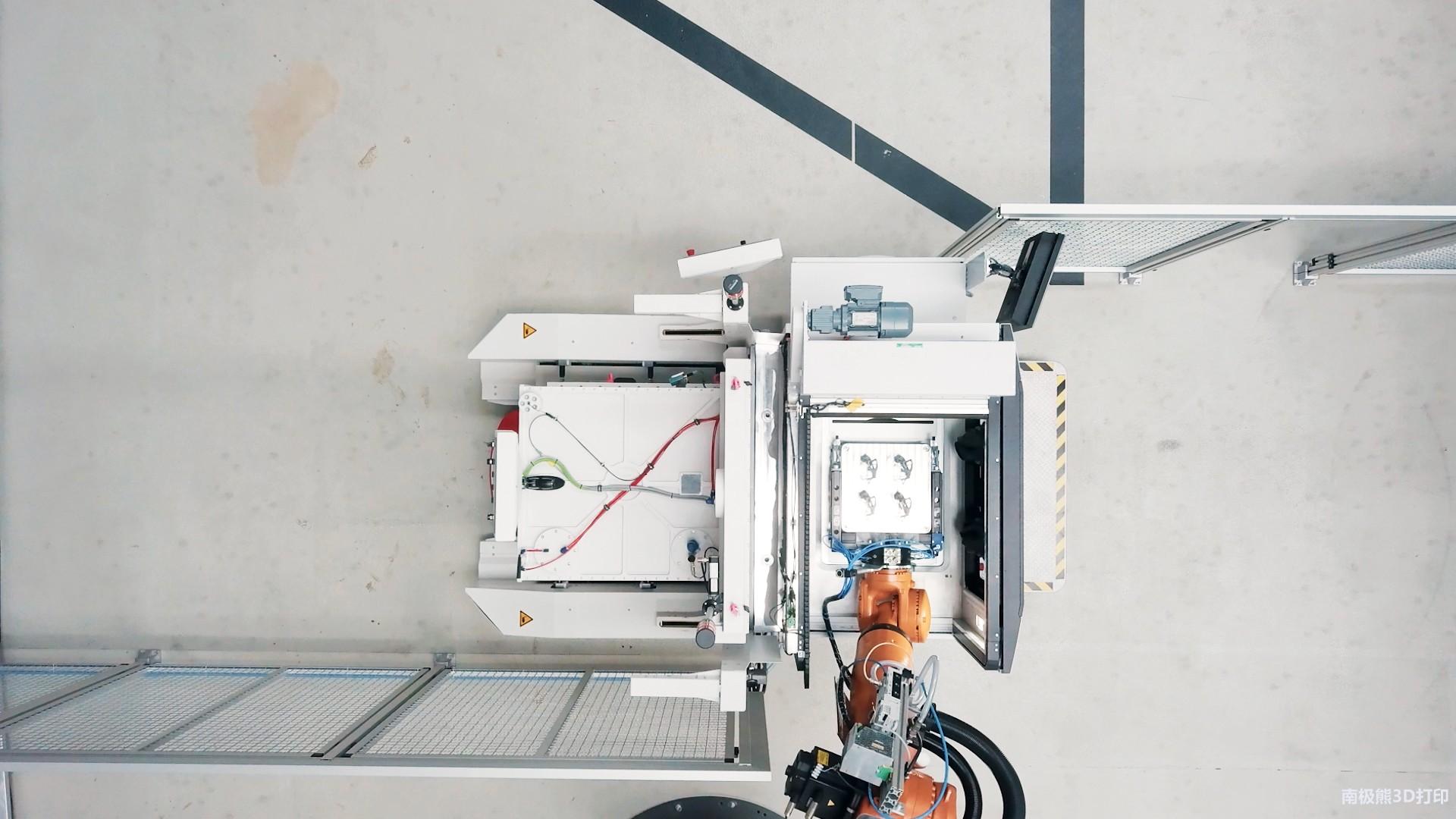 全自动化金属3D打印生产工厂已试运行2年 制造成本降低50%