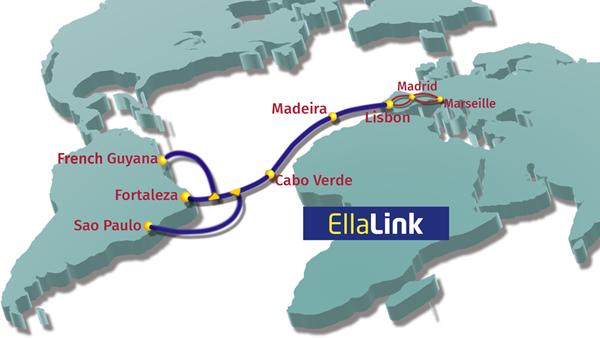 巴西-欧洲海缆系统EllaLink启动海洋路径调查
