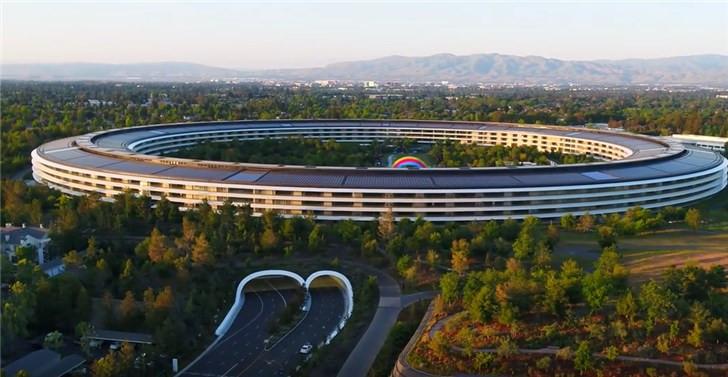 苹果Apple Park最新无人机视频公布