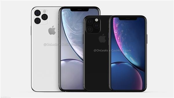 三款新iPhone外观、代号确认:搭载A13芯片 拍照升级