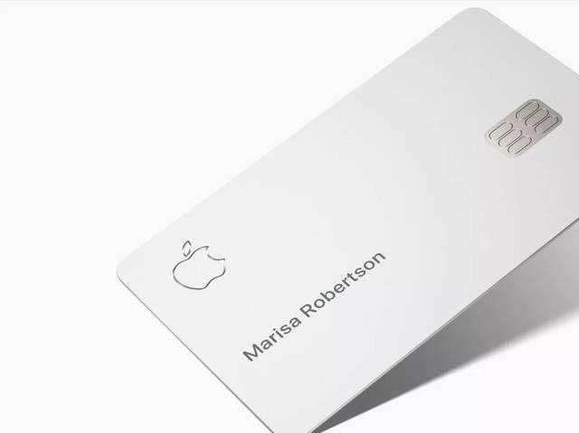 苹果实体信用卡真面目亮相