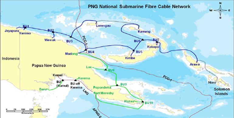 所罗门海底光缆系统即将启动铺设