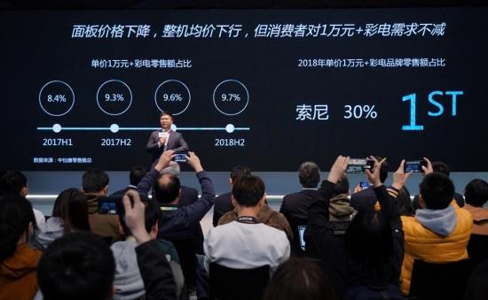 索尼画谛系列旗舰A9G OLED电视重磅上市