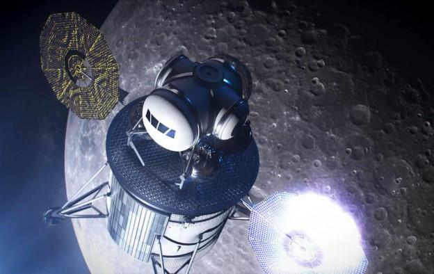 NASA和众多私营航太公司合作 开发Artemis计划当中的月球着陆器