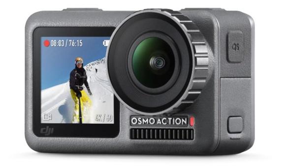 大疆推Osmo Action运动相机 前后双屏仅2499