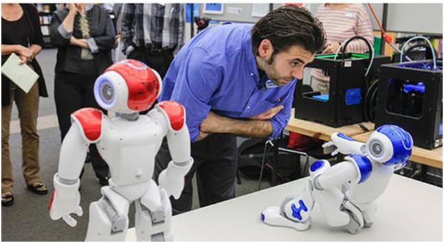 机器人来了,智慧图书馆还远吗?