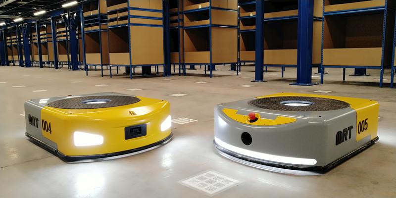 纽为水岩吕江:224亿美元仓储物流机器人市场,如何分杯羹?
