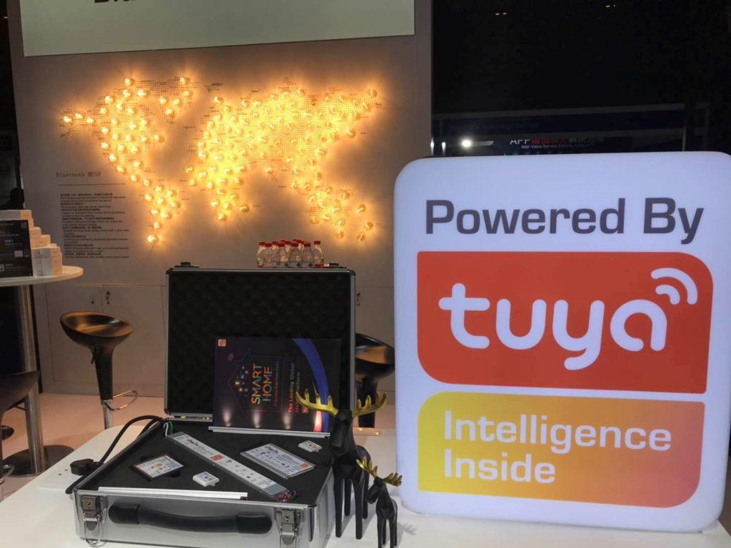 涂鸦智能蓝牙技术联盟官方大会展示优特电源最新产品
