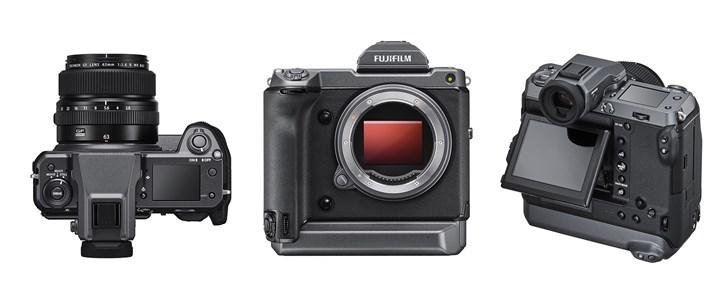 又一款1亿像素相机登场!富士GFX100来了, 售价要7万