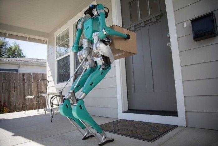 福特与其它公司合作研发Digit自动送货机器人