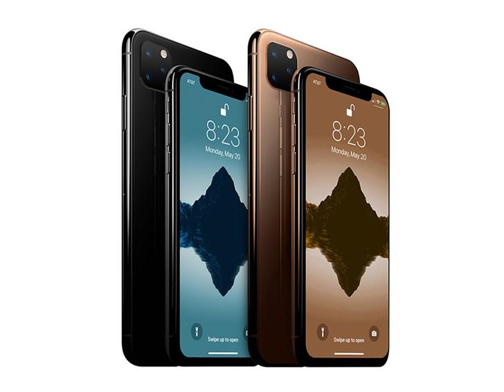 新iPhone再曝光:浴霸三摄实锤,或上屏幕指纹