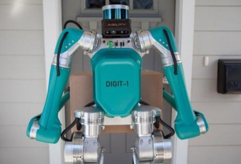 福特开发带有激光雷达传感器的送货机器人