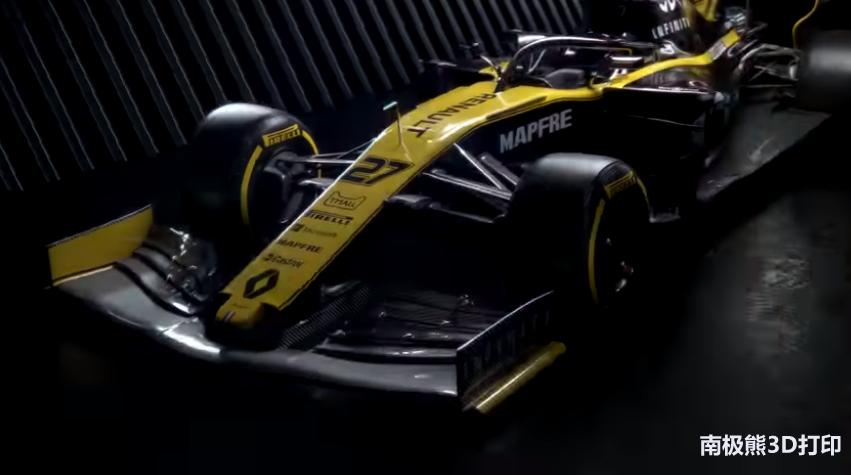 JABIL与雷诺F1团队合作3D打印F1赛车最终零部件