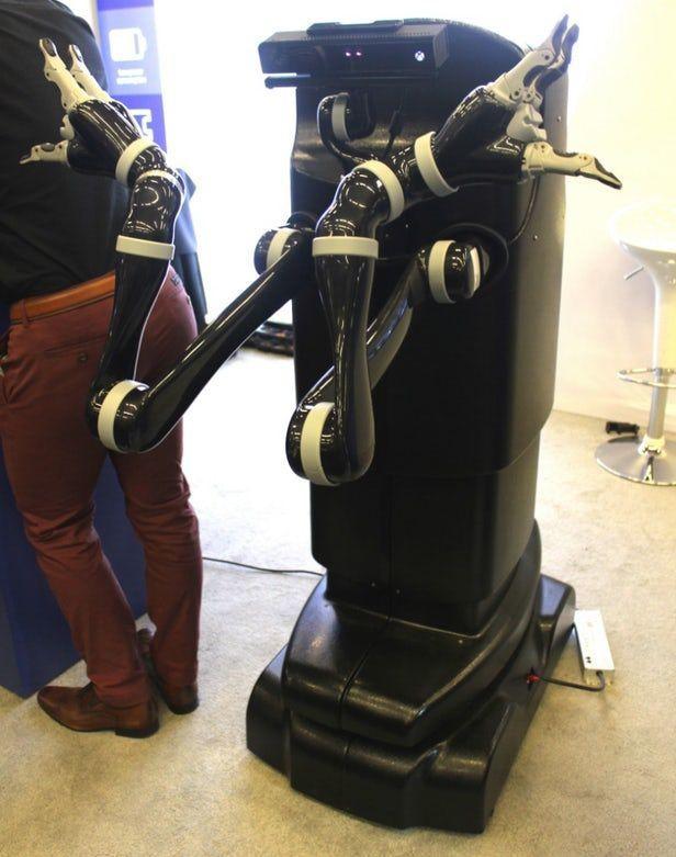 Movo双臂机器人可用于SLAM研究 售价约16万美元