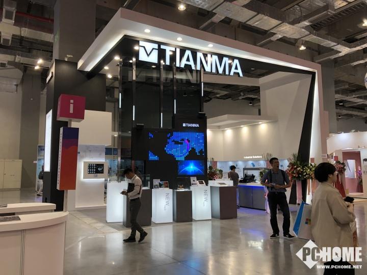 台北电脑展:天马展现AMOLED柔性屏幕亚博官方app