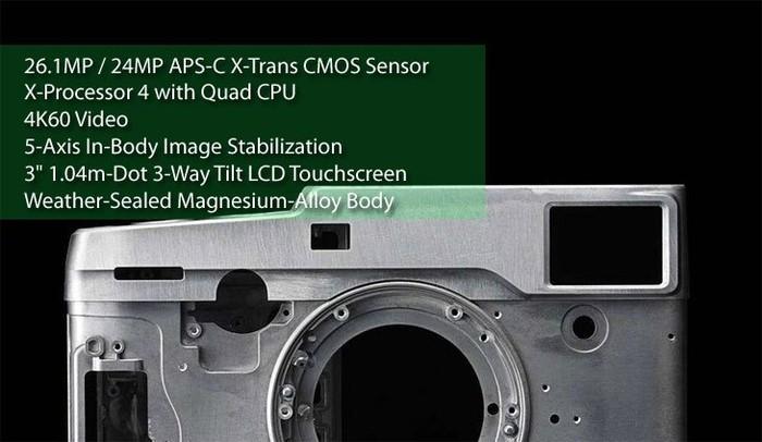 传富士X-Pro 3将会采用GFX100同款图像处理器