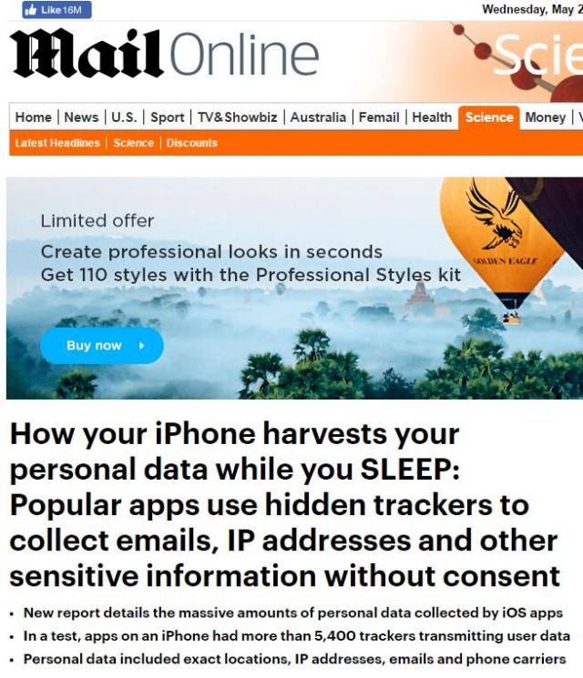 苹果追踪用户数据是怎么回事?苹果追踪用户数据具体什么情况?
