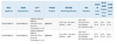 华为大屏电视通过3C认证 方针年销量破万万台?亚博官方app