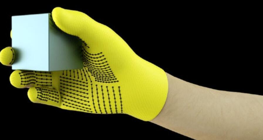 MIT开发低成本传感器手套:使机械手触摸识别物体