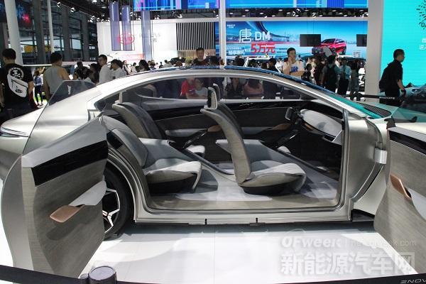 深港澳车展新能源车型盘点,造车新势力大放异彩!