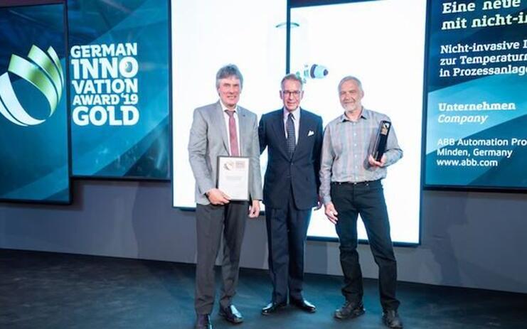 ABB首创非侵入式温度传感器 荣获德国创新奖金奖