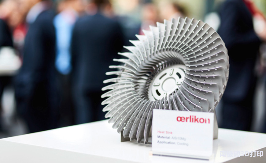 欧瑞康在美国投资5500万美元开设3D打印创新中心