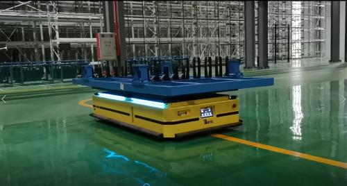 面向制造业的自然导航机器人:风口起 在路上
